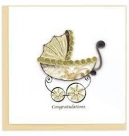 Greeting Card Baby Carriage