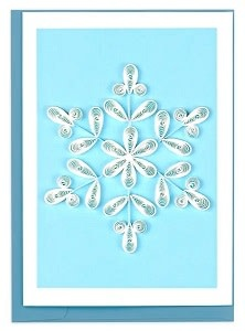 Enclosure Card Snowflake