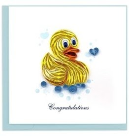 Greeting Card Rubber Ducky