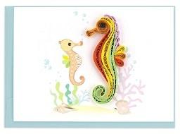 Enclosure Card Seahorse
