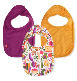Magnetic Me Magnetic Me Bibs 3 Pack - Home Grown