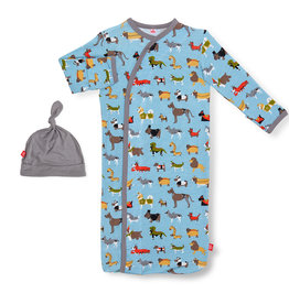 Magnetic Me Magnetic Me Magnetic Gown & Hat - In-Dog-Nito