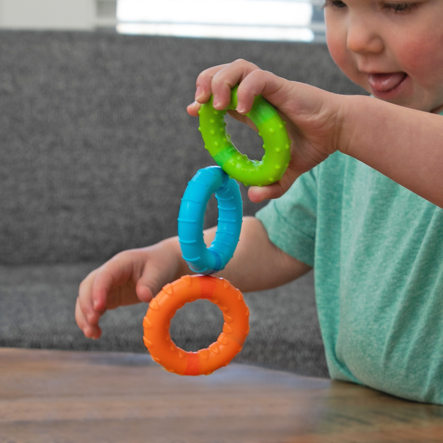 Fat Brain Toy Co Silly Rings
