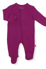 Magnetic Me Magnetic Me - Modal Footie - Plum