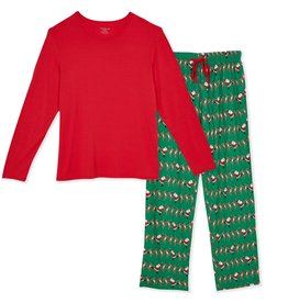 Magnetic Me Magnetic Me - Modal - Holly Folly Jolly Women's Pajama Set