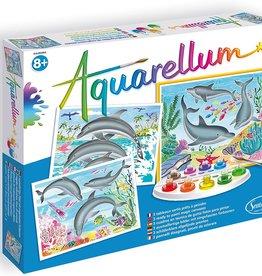 Aquarellum Aquarellum Dolphins