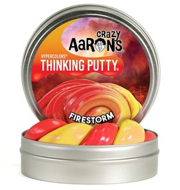 "Crazy Aaron's Thinking Putty Tin 4"" - Fire Storm"