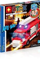 Light STAX STAX Hybrid Building Blocks - Light Up Fire Truck