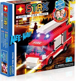 Light STAX STAX Hybrid Building Blocks - Light Up Fire Truck