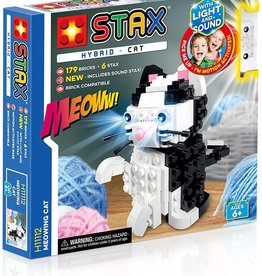 Light STAX STAX Hybrid  Building Blocks - Meowing Cat