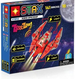 Light STAX Hybrid Building Blocks - Spaceship