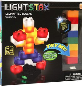 Light STAX Junior Classic Building Blocks - 24 Piece Set