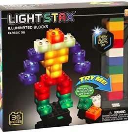 Light STAX Junior Classic Building Blocks - 36 Piece Set