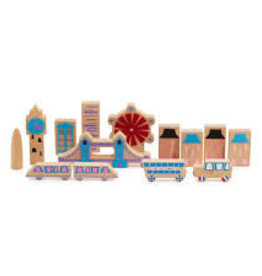 Wanderlust Wood & Felt Themed Playset - London