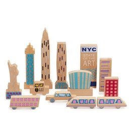 Wanderlust Wood & Felt Themed Playset - New York