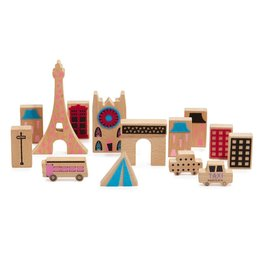 Wanderlust Wood & Felt Themed Playset - Paris