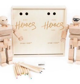 Playhard Heroes Playhard Heroes DIY Set with Colored Pencils