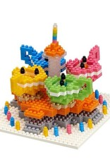 TICO Mini Bricks - Amusement Park Spinning Tea Cups