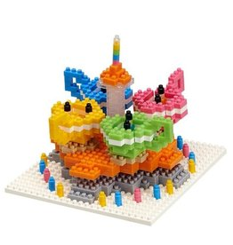 TICO Mini Bricks - Amusement Park Spinning Tea Cups