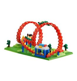 TICO Mini Bricks - Amusement Park Roller Coaster