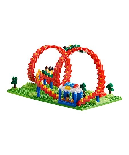 TICO Mini Bricks Amusement Park - Roller Coaster