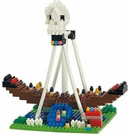 TICO Mini Bricks - Amusement Park Pirate Ship