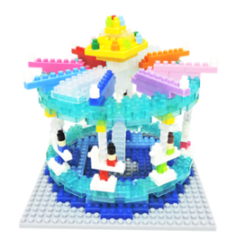 TICO Mini Bricks - Amusement Park Carousel