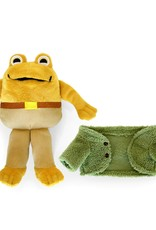"""Yottoy Toad 9"""" Soft Toy"""