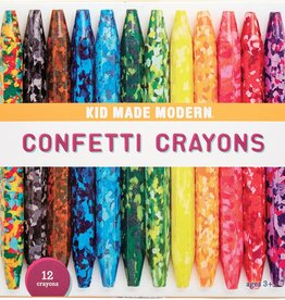 Kid Made Modern Confetti Crayons