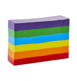 Kid Made Modern Rainbow Block Crayon
