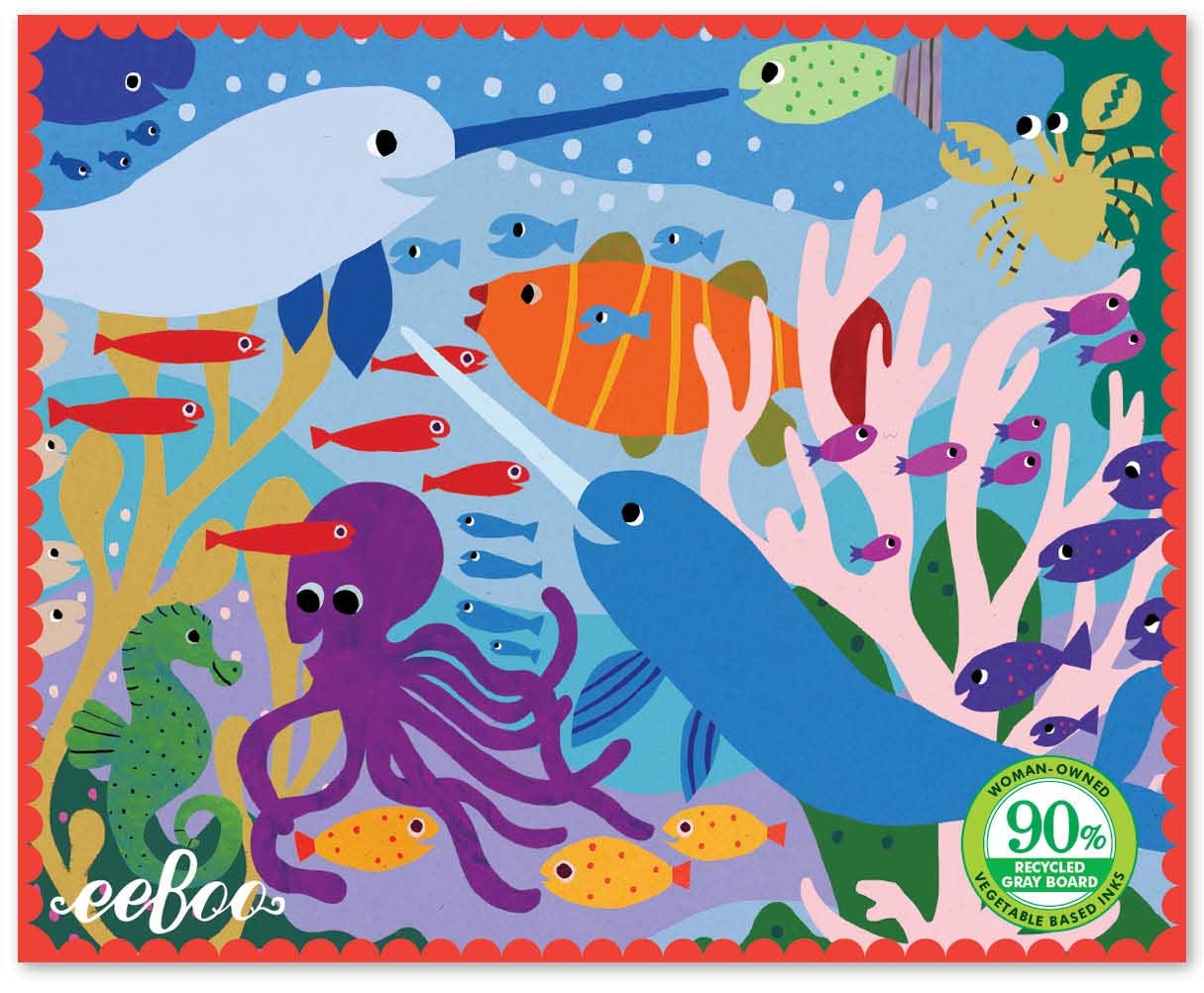 Narwhal and Friends Miniature Puzzle - 36pc