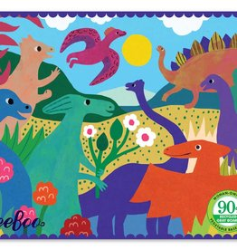 Dinosaurs in the Park Miniature Puzzle - 36pc