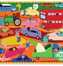 Traffic in the City Miniature Puzzle - 36pc