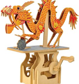 Clockwork Dreams Storybook Automaton Set - Dragon on the Clock