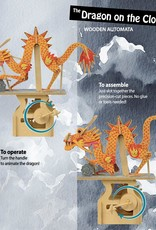 Clockwork Dreams Storybook Automaton Set - Dragon on the Cloud
