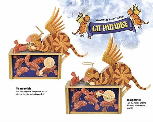 Clockwork Dreams Storybook Automaton Set - Cat Paradise