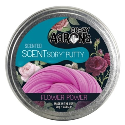 "Crazy Aaron's Scentsory Putty Tin 2.75"" - Flower Power"
