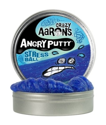 "Crazy Aaron's Angry Putty Tin 4"" - Stress Ball"