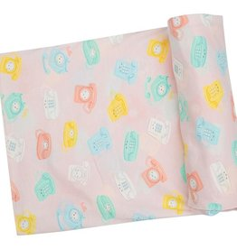 Angel Dear Swaddle Blanket - Retro Phones