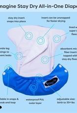 Imagine Imagine StayDry One Size Pocket Diaper - Snow