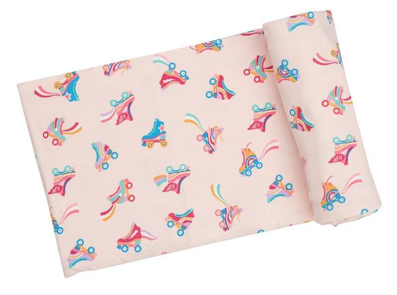 Angel Dear Swaddle Blanket - Roller Skates