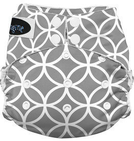 Imagine Imagine StayDry One Size Pocket Diaper - Ring-a-Ding