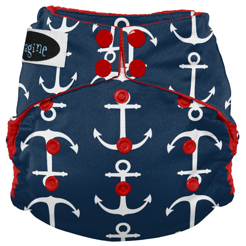 Imagine Imagine StayDry One Size Pocket Diaper - Overboard
