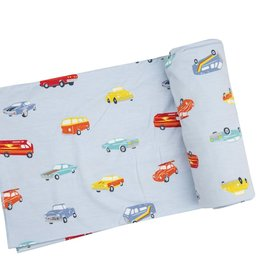Angel Dear Swaddle Blanket - Sweet Ride