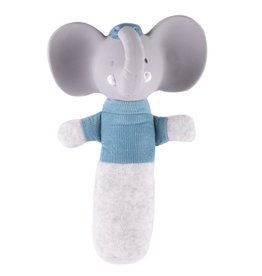 Tikiri Alvin the Elephant - Soft Squeaker Toy