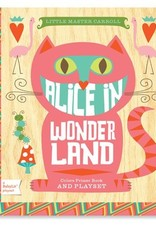 Gibbs Smith Publ Alice in Wonderland Board Book and Playset