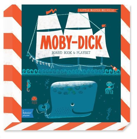 Gibbs Smith Publ Moby Dick Book and Playset