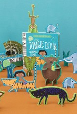 Gibbs Smith Publ Jungle Book - Book and Playset