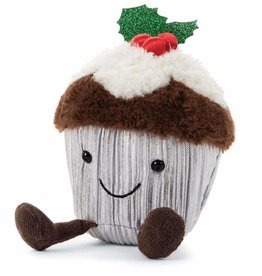 Jellycat Jellycat - Holly Cutie Cupcake