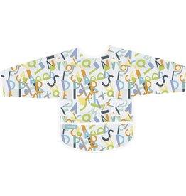 Kushies Baby Kushies - Sleeved CleanBib - Alphabet 6-12m